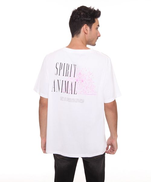 BARONG SPIRIT ANIMAL WHITE MALE   L
