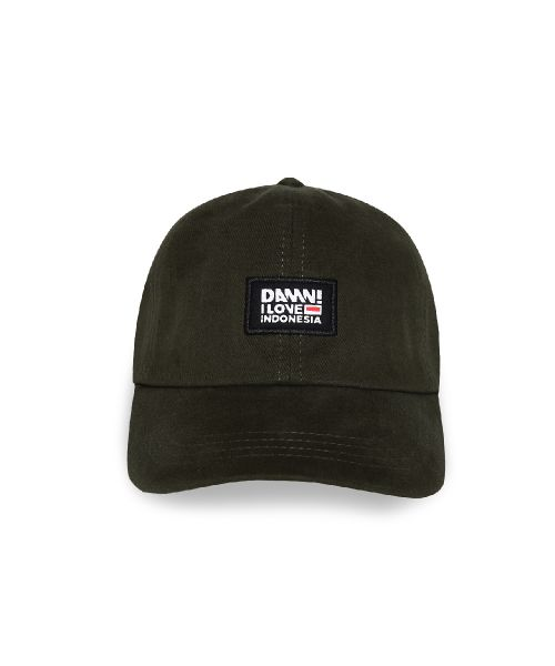 CAP DAMN AUTHENTIC SIGN OLIVE   FS