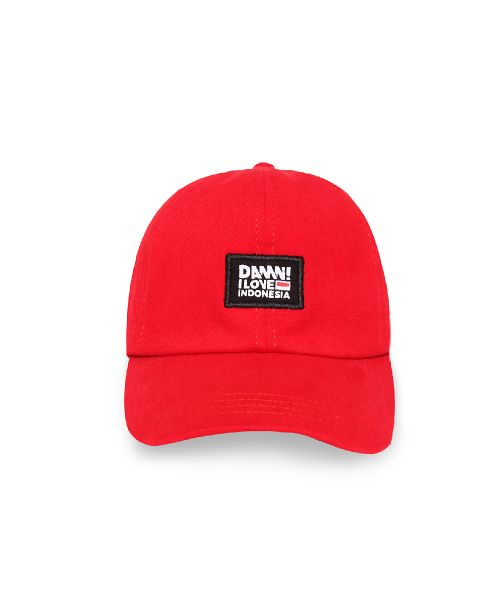 CAP DAMN AUTHENTIC SIGN RED   FS