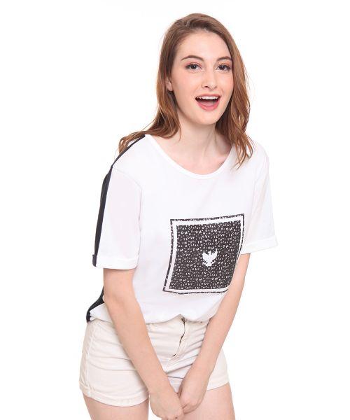 GARUDA ALPHABETICAL FEMALE WHITE   XL