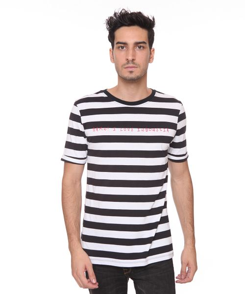 HANDWRITTEN STRIPE MALE WHITE   S