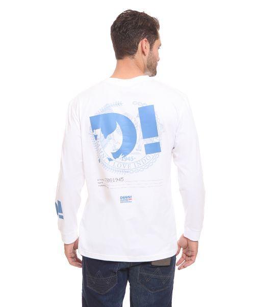 LONG SLEEVE PROSPERITY OF INDONESIA WHITE MALE   L