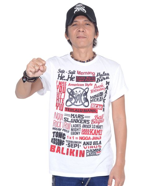 SLANK SONG WHITE MALE   S