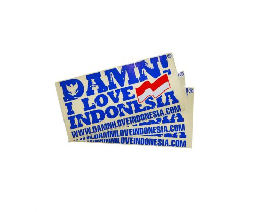 STICKER SIGNATURE BLUE   F