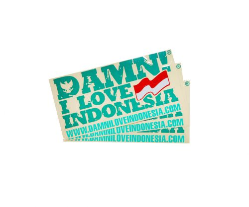 STICKER SIGNATURE DARK GREEN   F