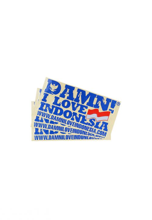 STICKER SIGNATURE MINI BLUE   F