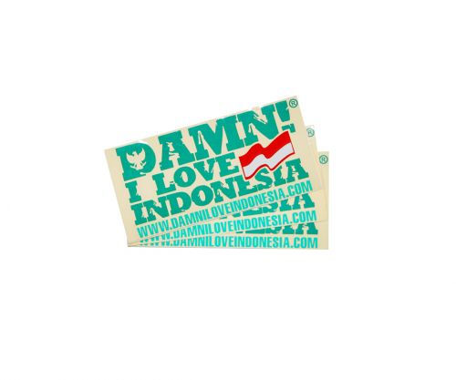 STICKER SIGNATURE MINI DARK GREEN   F