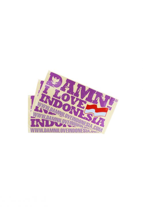 STICKER SIGNATURE MINI PURPLE   F