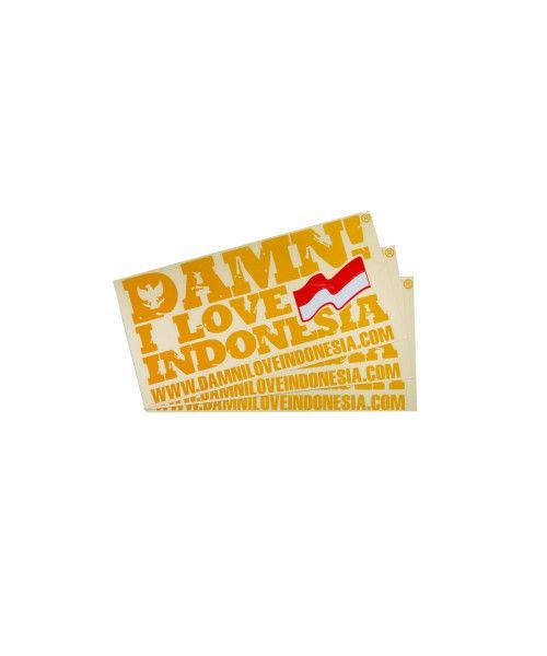 STICKER SIGNATURE MINI YELLOW   F