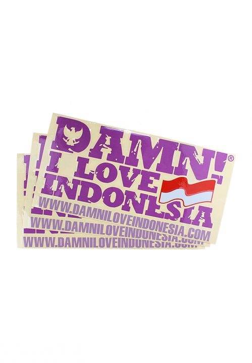 STICKER SIGNATURE PURPLE   F