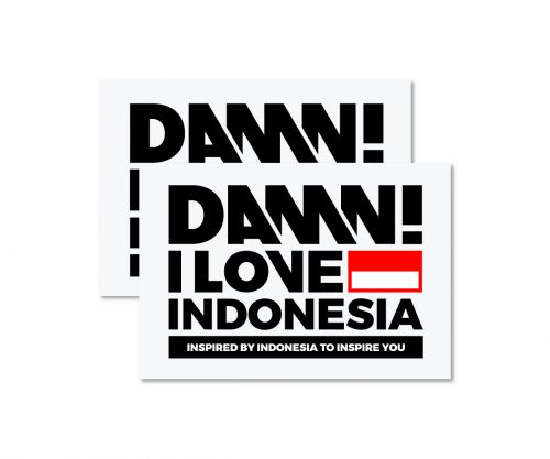 STICKER SIGN BLACK MEDIUM   M