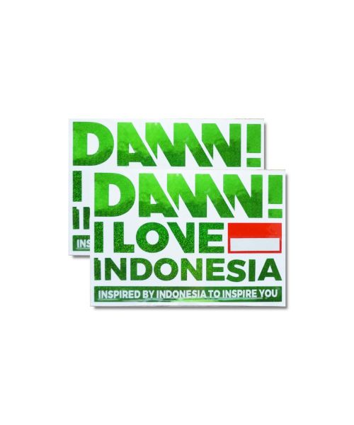 STICKER SIGN GREEN MEDIUM   M