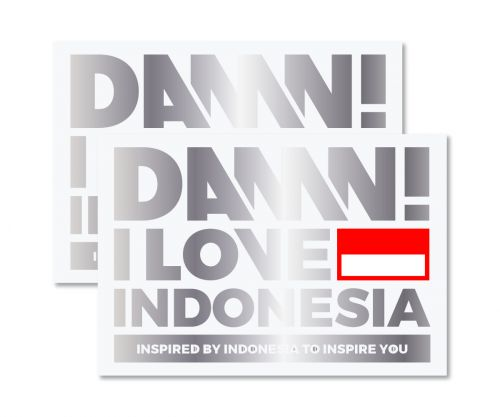 STICKER SIGN GREY LARGE   L
