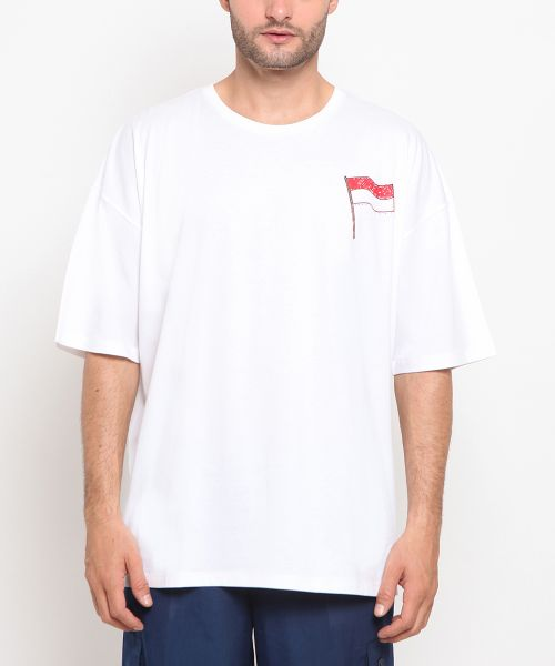 TEE A BETTER NATION OFF WHITE UNISEX-L
