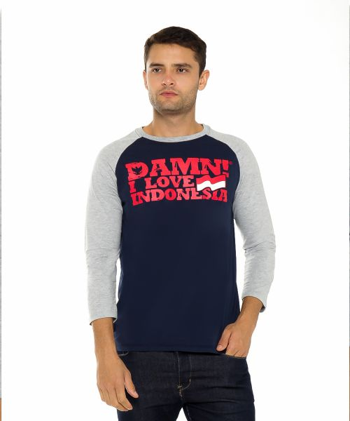 RAGLAN SIGNATURE 7/8 NAVY HD RED/MISTY MALE