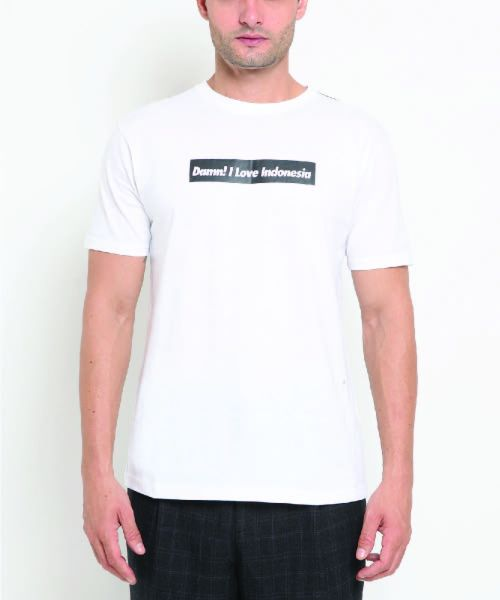 DAMN BLACK BLOCK WHITE MALE-2XL