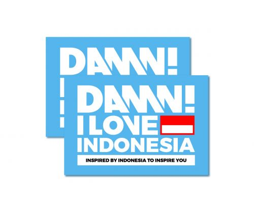 STICKER SIGN WHITE MEDIUM   M