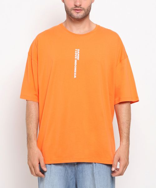 DAMN! ILERATIO ORANGE UNISEX-L