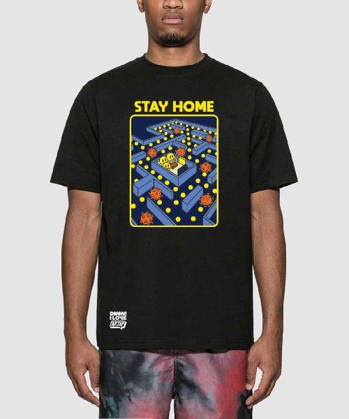 KOMIK FAKTAP STAY HOME BLACK UNISEX