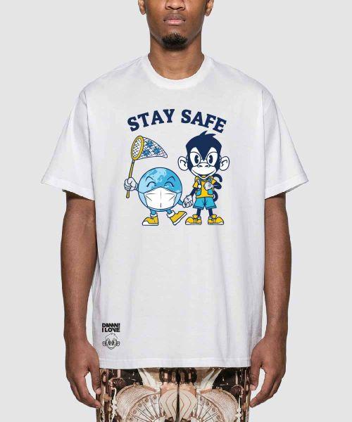 SKILL MONKY STAY SAFE UNISEX WHITE