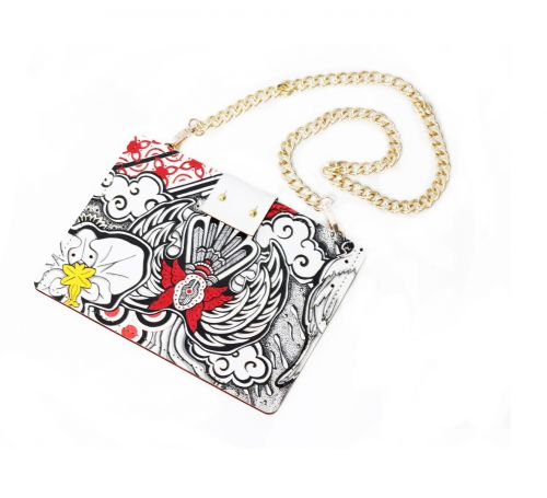 The Theme Handpainted Clutch