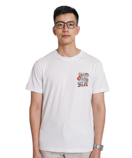 INDONESIA WHITE TEES