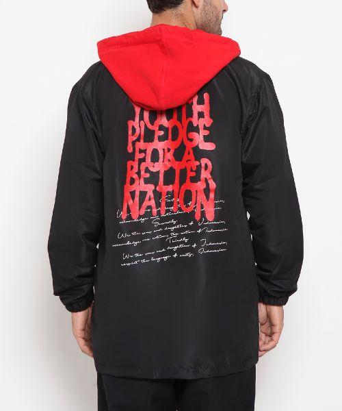 JACKET A BETTER NATION BLACK UNISEX-XL