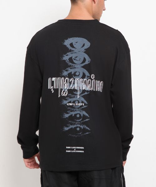 LONG SLEEVE INDONESIA YOUTH LEGACY BLACK MALE-M