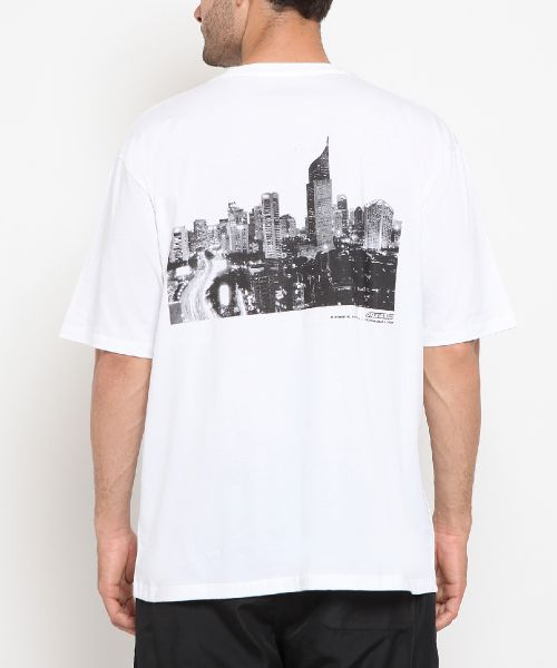 BIG CITY DREAM WHITE UNISEX-3XL