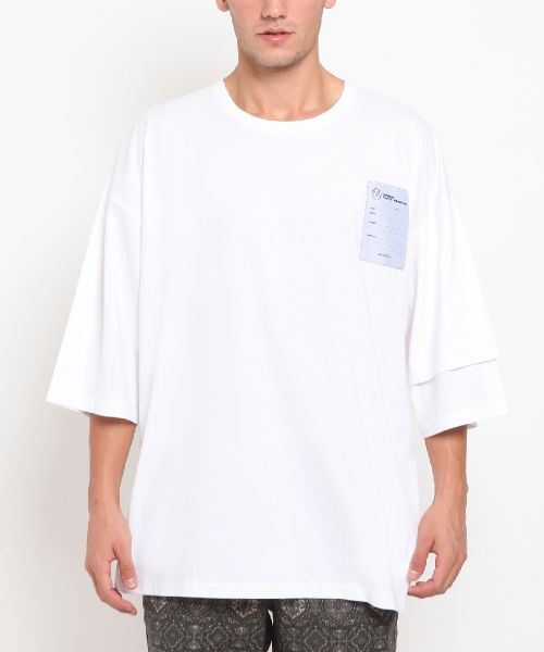 LAYER SLEEVE INDONESIA 2K20 OFFWHITE MALE-S