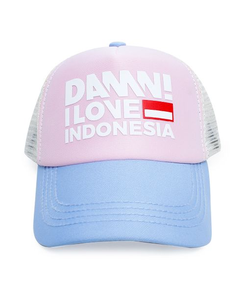 CAP SIGN NUDE/PINK/LIGHT BLUE