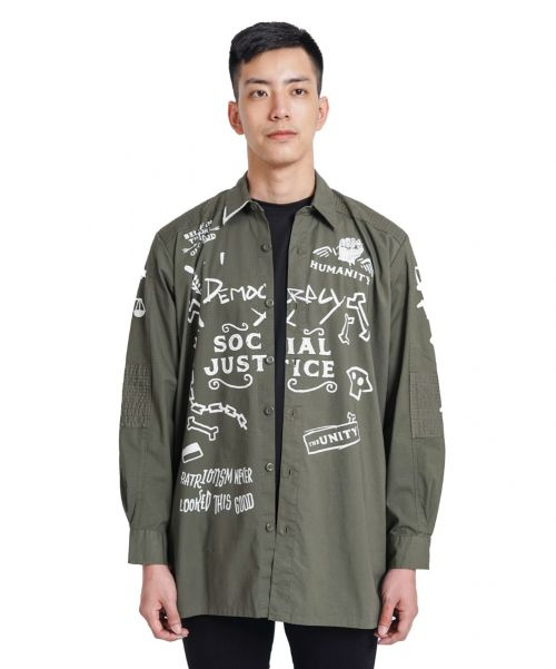 UNITY OUTERWEAR OLIVE MALE