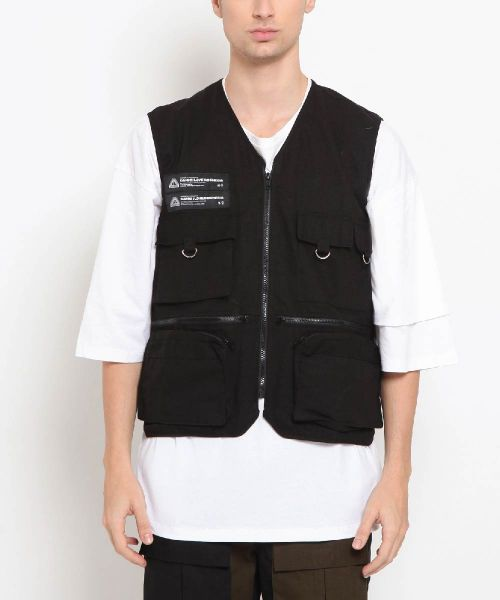 VEST FISHERMAN BLACK UNISEX