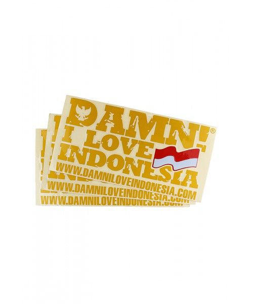 STICKER SIGNATURE YELLOW   F